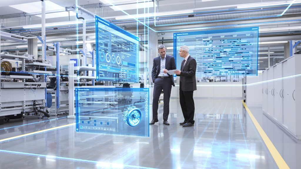 Demonstration of Siemens Opcenter in use